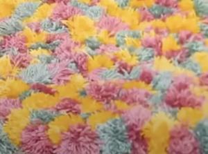 DIY Woven Foot Mat