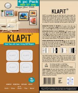 KLAPiT 4pc Pack