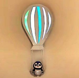 diy, DIY Project, 'Hot Air Balloon' Wall Decor, Do it yourself, interior design, home decor, interior decor, wall decor, art, creativity, creative project, hobby, summer project, holiday project, art project, home decoration, interior decoration, home decoration ideas, simple DIY, easy DIY project, DIY project with material, DIY project idea, Hobby ideas, home art, art for home