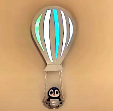 DIY Project - 'Hot Air Balloon' Wall Decor. Do it yourself