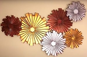 diy, DIY Project, 'Interconnected Wheels' wall decor, do it yourself, interior design, home decor, interior decor, wall decor, art, creativity, creative project, hobby, summer project, holiday project, art project, home decoration, interior decoration, home decoration ideas, simple DIY, easy DIY project, DIY project with material, DIY project idea, Hobby ideas, home art, art for home