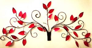 diy, DIY Project, Red Leaf Cherry Blossom wall decor, Do it yourself project, interior design, home decor, interior decor, wall decor, art, creativity, creative project, hobby, summer project, holiday project, art project, home decoration, interior decoration, home decoration ideas, simple DIY, easy DIY project, DIY project with material, DIY project idea, Hobby ideas, home art, art for home