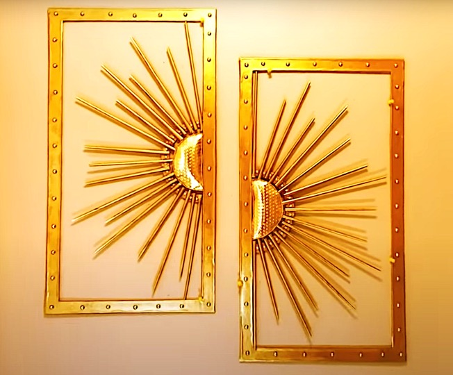 Sun in the Window artwork DIY Project. Do it Yourself