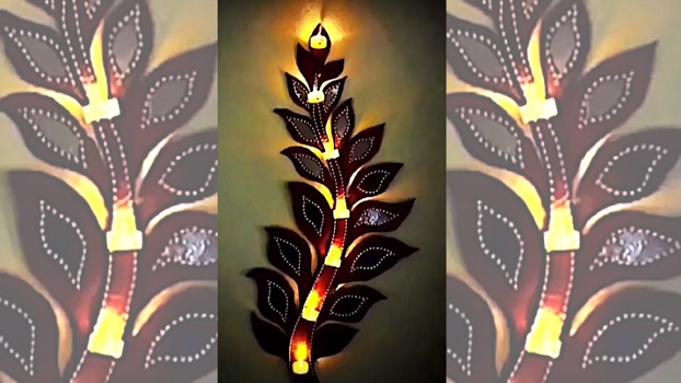 DIY Project Tree of Light. Do it yourself