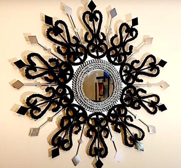 diy, DIY Project, Urban Armour Mirror, Do it yourself project, Mirror, DIY Mirror, Fancy mirror, interior design, home decor, interior decor, wall decor, art, creativity, creative project, hobby, summer project, holiday project, art project, home decoration, interior decoration, home decoration ideas, simple DIY, easy DIY project, DIY project with material, DIY project idea, Hobby ideas, home art, art for home