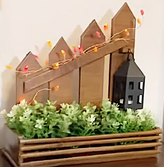 DIY Project - Wooden Flower Pot for your room. Do it yourself