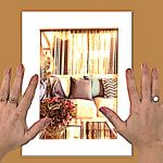 hang frame, damage free hanging, picture hanging strips, hang a small frame, hang a table picture, hang a table frame