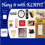 Uses of KLAPiT, what to hang with KLAPiT, things to hang with KLAPiT, drill free hanging, dmaage free hanging, hang it with KLAPiT, picture hanging strips, 21st century screw