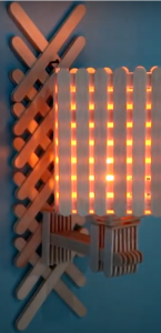 DIY, Popsicle, Lamp, Wall Art, DIY Project, Do it yourself, interior design, home decor, interior decor, wall decor, art, creativity, creative project, hobby, summer project, holiday project, art project, home decoration, interior decoration, home decoration ideas, simple DIY, easy DIY project, DIY project with material, DIY project idea, Hobby ideas, home art, art for home