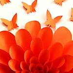 DIY, Butterfly, Flower, Art, Wall Art, DIY Project, Do it yourself, interior design, home decor, interior decor, wall decor, art, creativity, creative project, hobby, summer project, holiday project, art project, home decoration, interior decoration, home decoration ideas, simple DIY, easy DIY project, DIY project with material, DIY project idea, Hobby ideas, home art, art for home