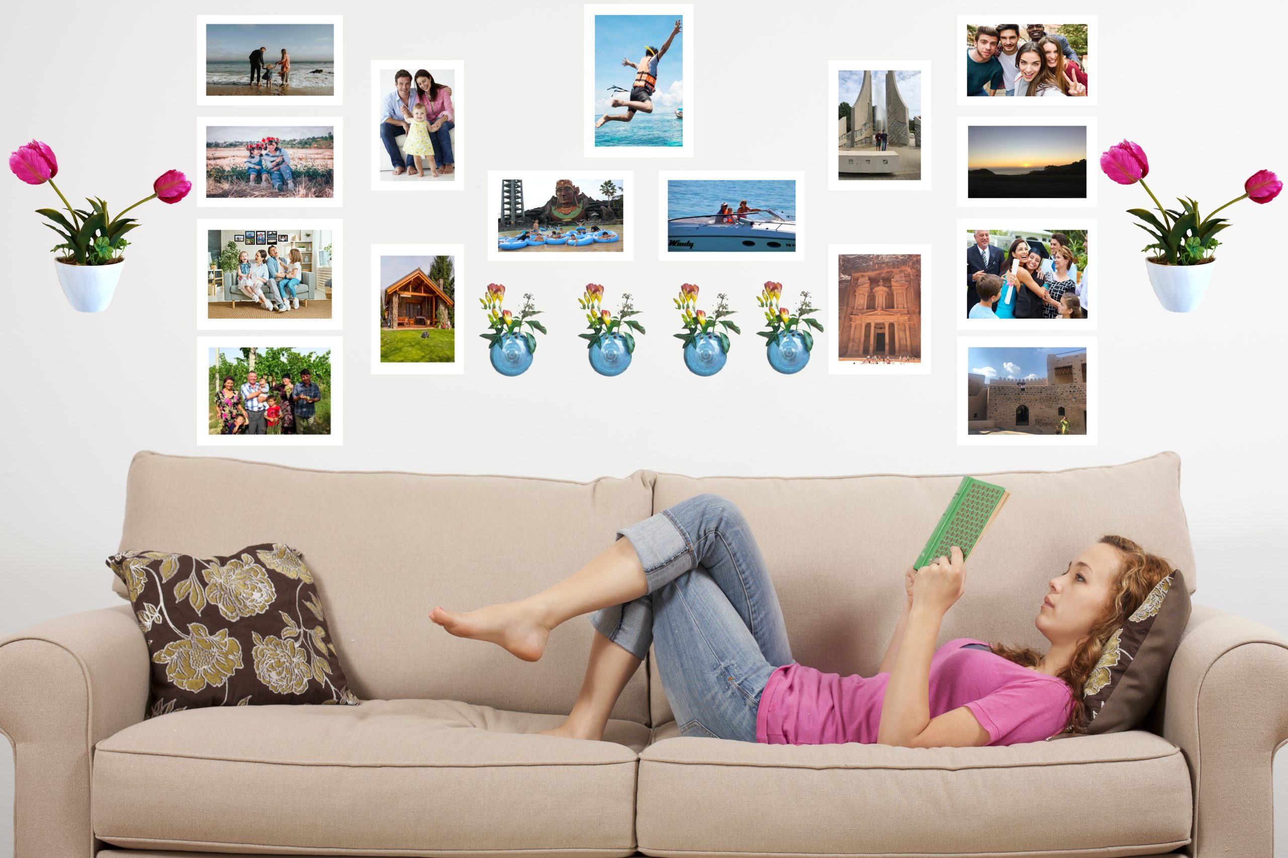 Gallery Wall, Photo Wall, Picture Wall, Wall Decor