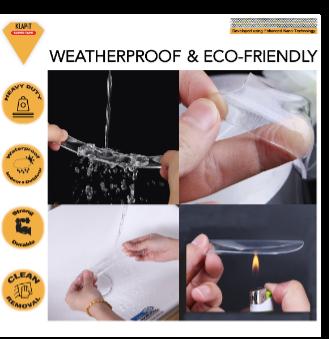 waterproof tape, heavy duty mounting tape
